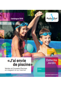 Catalogues et collections Hydrosud Pirey : Catalogue 2018