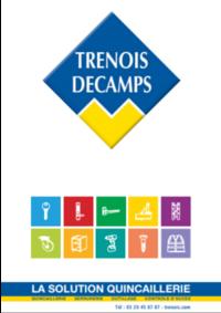 Catalogues et collections Trenois Decamps Vitry-Sur-Seine : Catalogue 2018