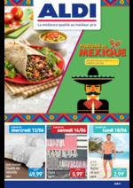 Promos et remises Aldi : Parfums du Mexique