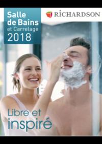 Catalogues et collections Richardson BAGNOLET : Salle de bains et carrelage 2018