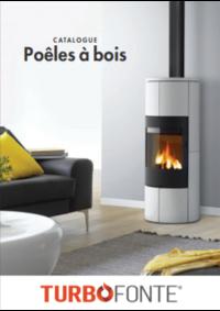 Catalogues et collections Turbo fonte Rennes - La Mézière : Poêles à bois