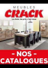 Prospectus Meubles Crack : Nos catalogues
