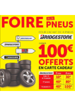 Prospectus Roady : Foire aux pneus