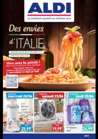 Prospectus Aldi Champigny-sur-Marne : Des envies d'Italie