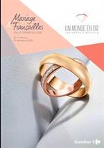 Prospectus Carrefour : Collection bijoux 2018 Mariages et fiancailles