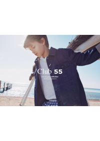 Catalogues et collections Massimo Dutti PARIS : Club 55: Boys and girls