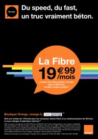 Prospectus Boutique Orange OSNY : La fibre à 19.99€