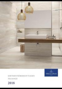 Catalogues et collections Villeroy & Boch Anderlecht Industrielaan 198 : Tile ranges