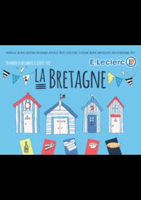 Prospectus E.Leclerc SAINT GREGOIRE : La Bretagne