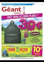 Prospectus Géant Casino : Rentrée des Classes