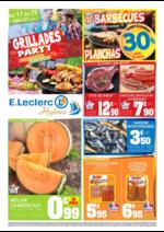 Prospectus E.Leclerc : Grillades Party Pique-nique repas d'été