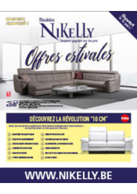 Prospectus Meubles Nikelly : Offres estivales