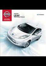 Promos et remises  : Nissan LEAF