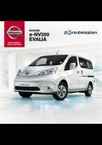Prospectus Nissan : Nissan e-NV200 EVALIA