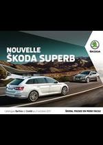 Promos et remises  : Skoda Superb
