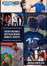 Prospectus DECATHLON : Créons ensemble vos plus beaux moments sportifs