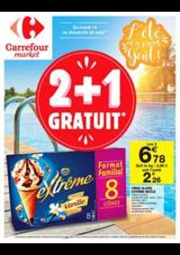 Prospectus Carrefour Market : Les bons calculs de la rentrée