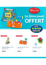 Prospectus La grande Récré : Offert Bloomy