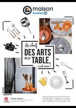 Prospectus E.Leclerc : Le chef des arts de la table, c'est moi !