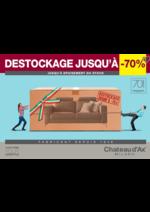 Prospectus  : Destockage