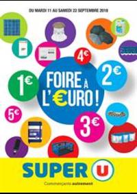 Prospectus Super U : FOIRE A L'EURO