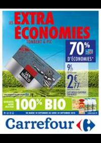 Prospectus Carrefour : Les Extras Economies tombent à pic 10