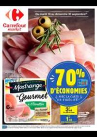 Prospectus Carrefour Market : 70% d'économie