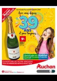 Prospectus Auchan : Auchan Nice 39 ans-BD