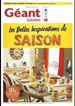Prospectus Géant Casino : Les belles inspirations de saison