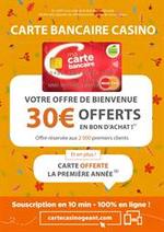 Promos et remises  : Votre offre de bienvenue, 30€ offerts en bon d'achat !