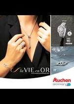 Prospectus Auchan : La vie en Or