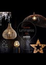 Prospectus  : Collection Luminaires 2018