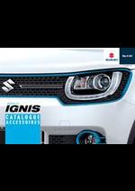 Promos et remises  : Catalogue Accessoires Suzuki Ignis