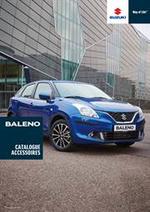 Promos et remises  : Catalogue Accessoires Suzuki Baleno