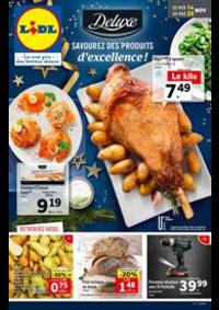 Prospectus Lidl : Savourez des produits d'excellence!