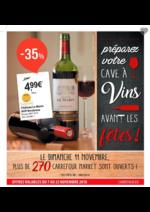 Prospectus Carrefour Market : Préparez votre cave à vin avant les fêtes