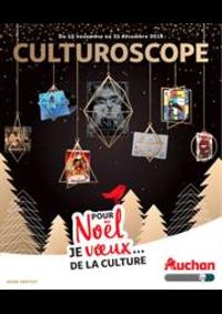 Prospectus Auchan BESSONCOURT : Le guide culture de Noël
