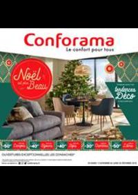 Prospectus Conforama TREVENANS : Noël est plus beau