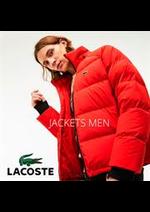 Prospectus Lacoste : Lacoste Jackets Men