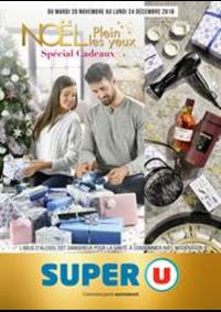 Prospectus Super U ERAGNY SUR OISE : Noël plein les yeux: Spécial cadeaux
