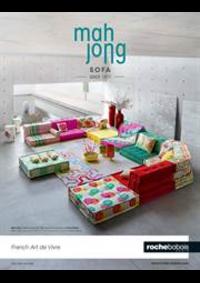 Prospectus Roche Bobois Galeries Lafayette - Lafayette Maison : Mah Jong Sofa: an icon