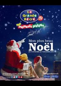 Prospectus La grande Récré GEISPOLSHEIM : Mon plus beau Noël