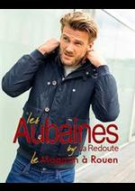 Prospectus LES AUBAINES : Manteaux & Veste Homme