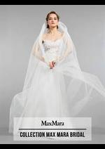 Prospectus Max Mara : Collection Max Mara Bridal