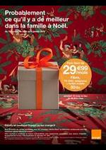 Prospectus Orange : Probablement ce qu'il y a de meilleur dans la famile à Noël