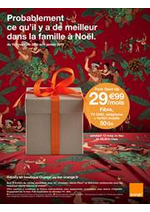 Prospectus Orange : Probablement ce qu'il y a de meilleur dans la famille à Noël