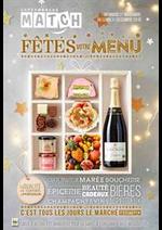 Promos et remises  : Fêtes votre menu