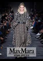 Prospectus Max Mara : Collection Automne-Hiver 2018