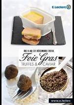 Prospectus E.Leclerc : Foie gras truffes et caviar