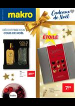 Prospectus Makro : Les cadeaux de noël